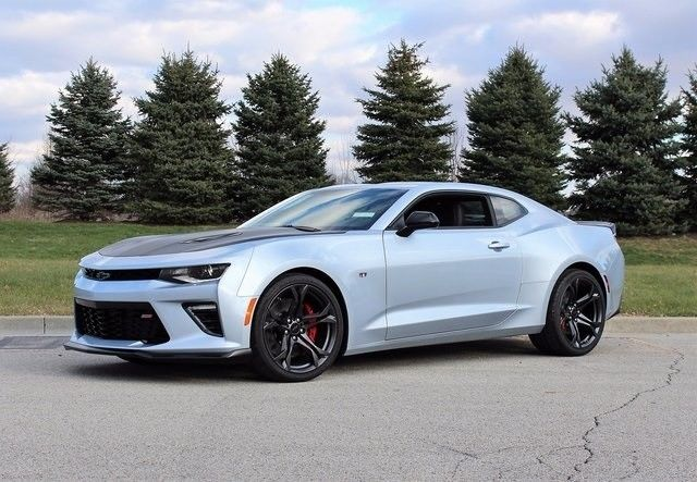 2018 Chevrolet Camaro Ss 6 Miles Arctic Blue 2d Coupe 2l V8 Sd Manual