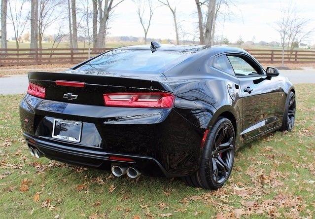 V8 Miata For Sale >> Great 2018 Chevrolet Camaro SS 2018 Chevrolet Camaro SS 6 Miles Black Metallic 2D Coupe 6.2L V8 ...