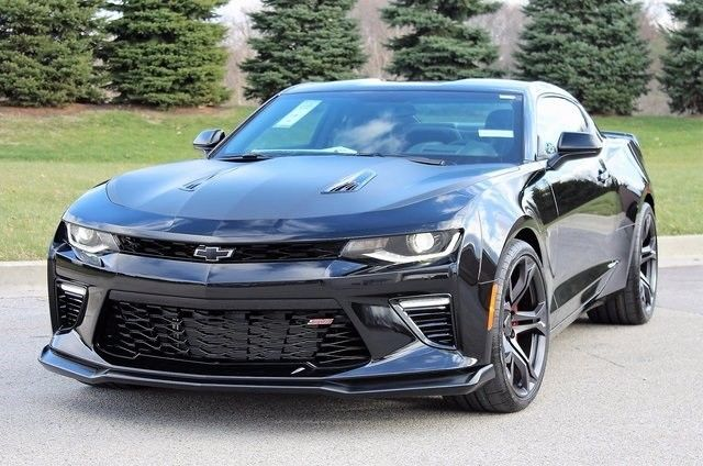 Great 2018 Chevrolet Camaro Ss 2018 Chevrolet Camaro Ss 6 Miles Black Metallic 2d Coupe 6 2l V8