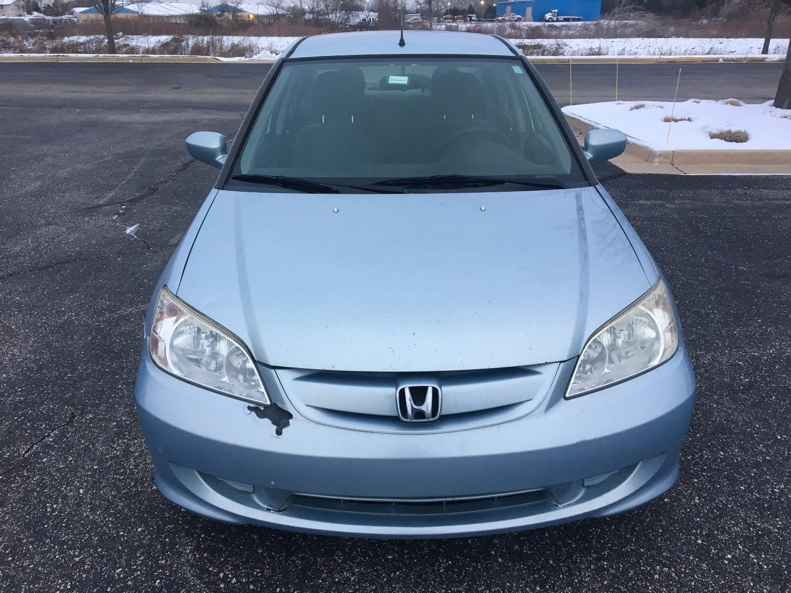 Awesome 2004 Honda Civic Hybrid No Reserve Ima Light On Fixer Upper Winter Beater As Is 2017 2018