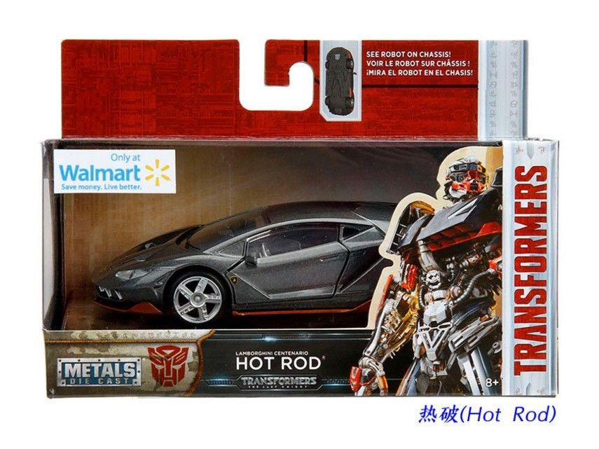 Amazing Jada 1 32 Transformers 5 Lamborghini Centenario Lp770 Hot