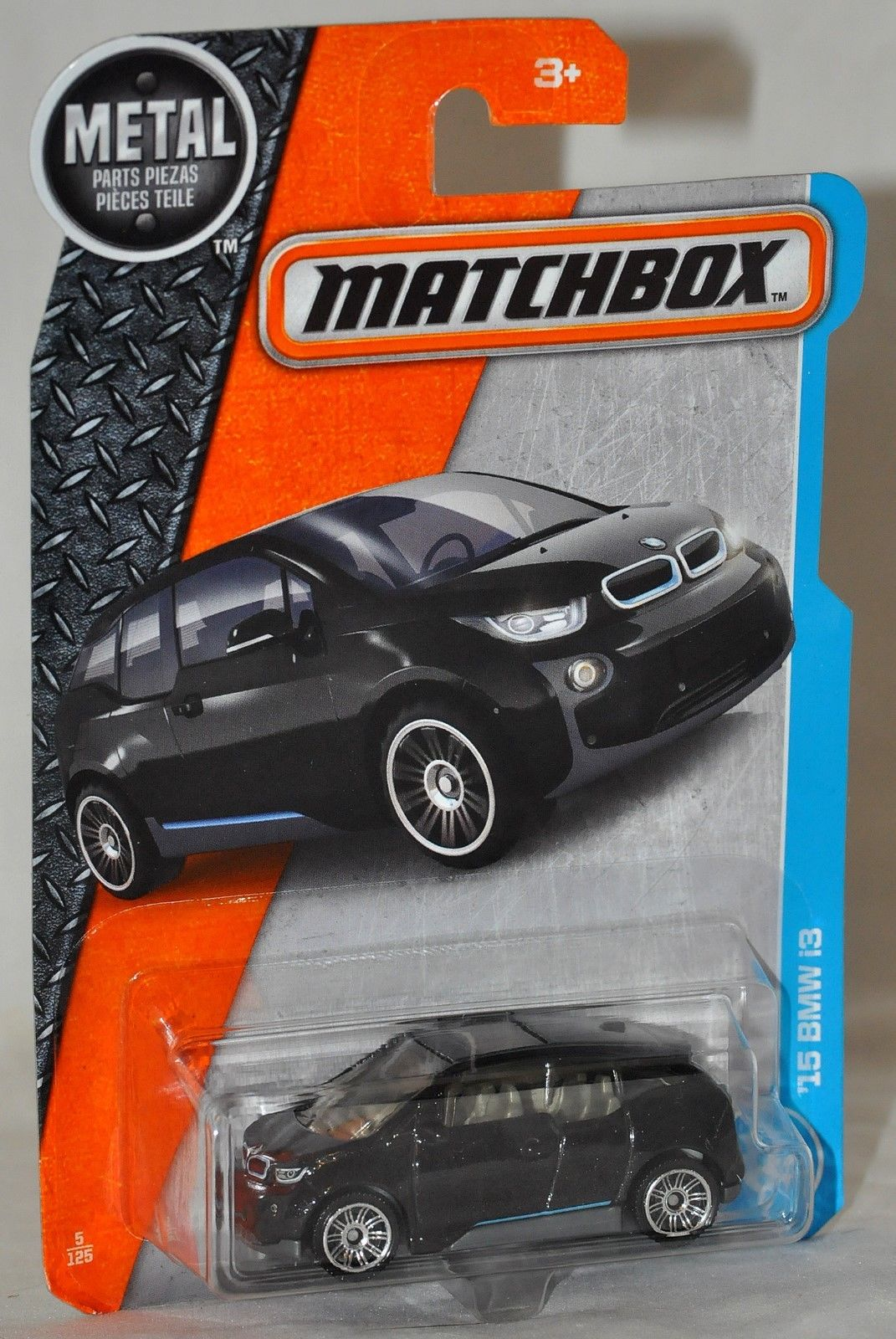 Amazing Matchbox 2017 05 15 Bmw I3 Black Moc Vhtf Metal