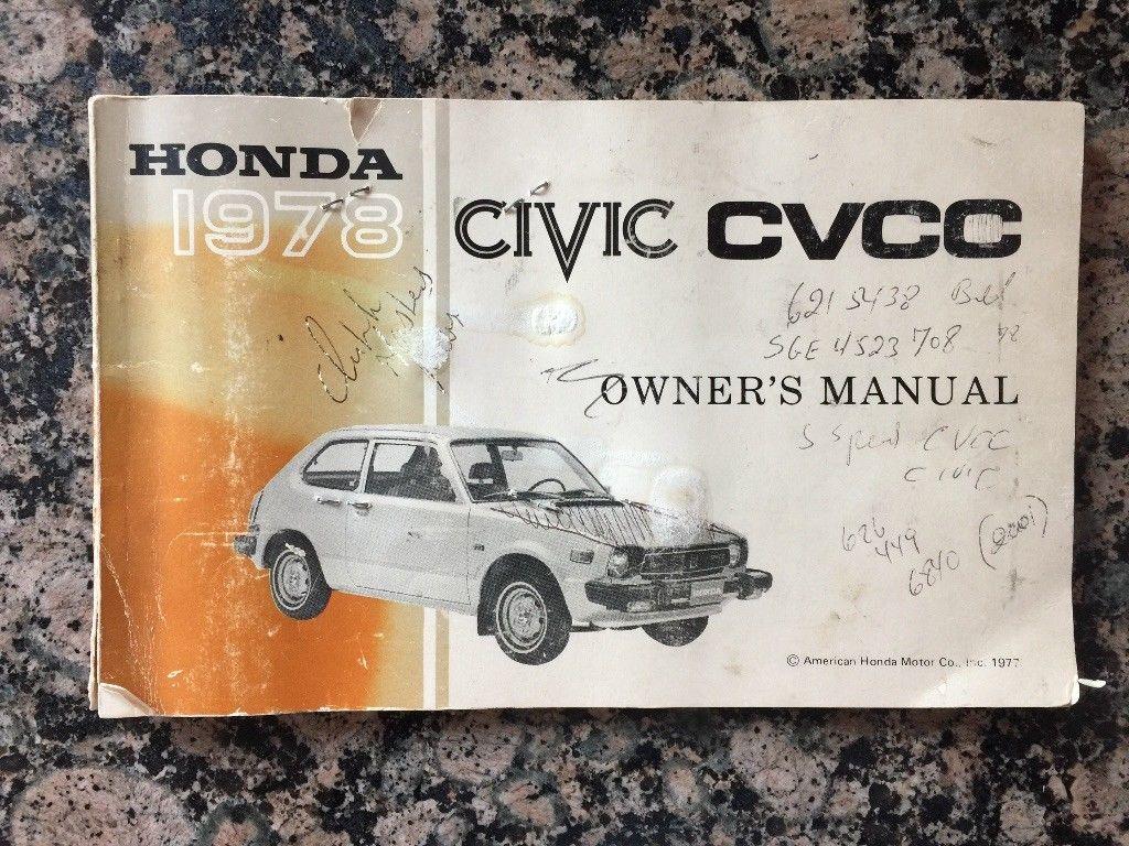 Amazing 1978 Honda Civic 1978 Honda Cvcc Civic 1st Gen 20172018