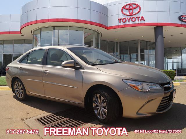 Great 2017 Toyota Camry Xle 12657 Miles Beige 4dr Sedan 4 Cylinder Engine 2 5l 152 2018