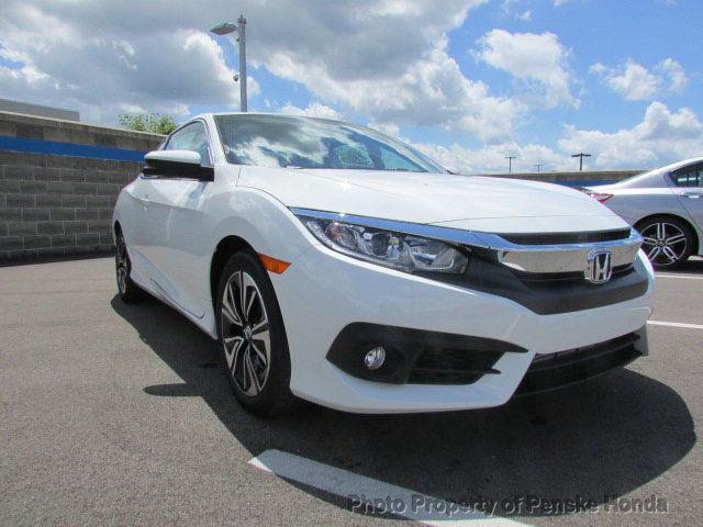 Amazing 2017 Honda Civic Ex L Cvt Ex L Cvt New 2 Dr Coupe Cvt Gasoline 1 5l 4 Cyl White Orchid