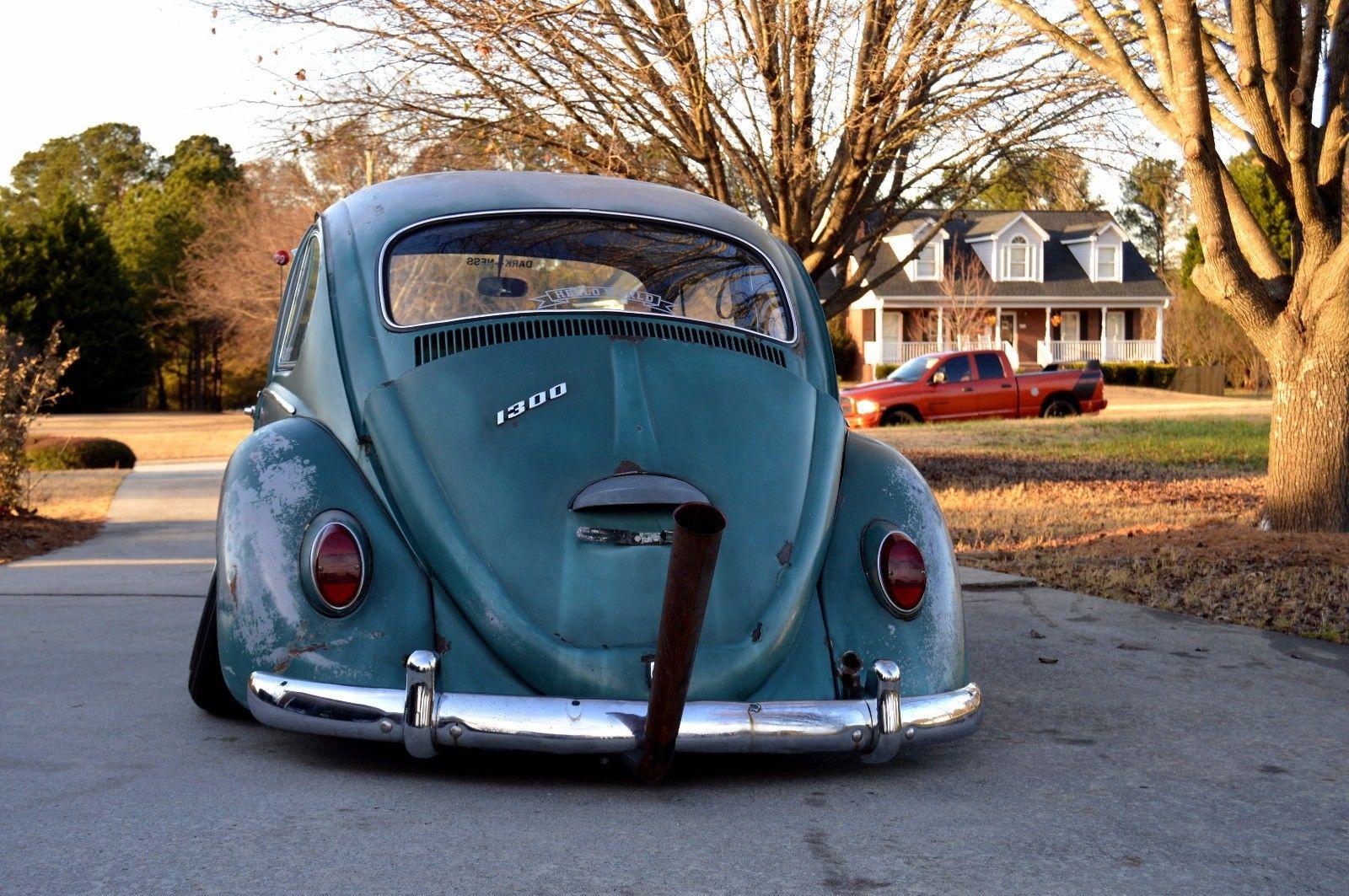 1966 Volkswagen Beetle Classic Lowered 1966 Volkswagen