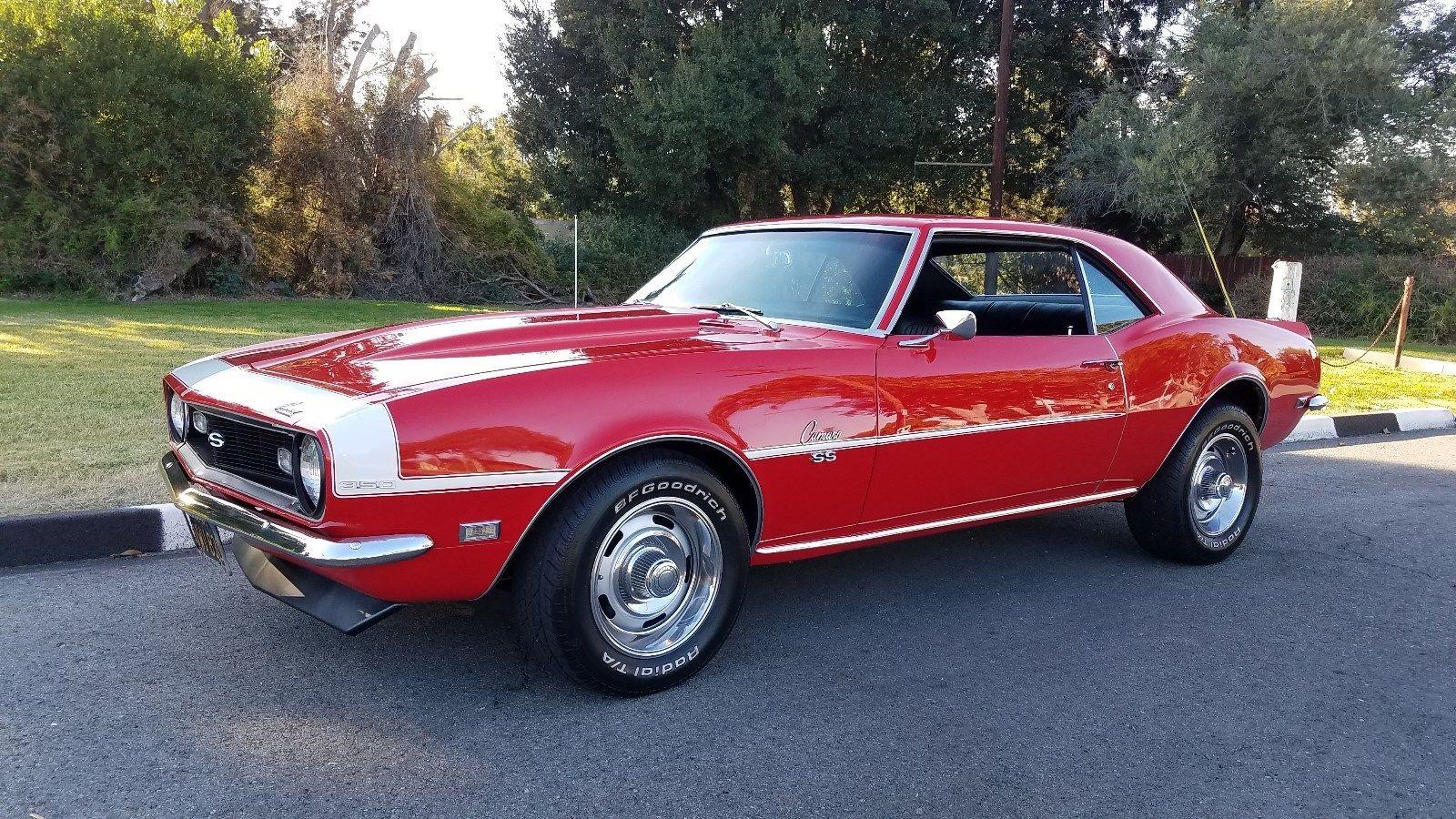 Great 1968 Chevrolet Camaro Super Sport Ss Muscle Car Tribute Restomod Fully Restored Ca Rust Free 69 2017 2018