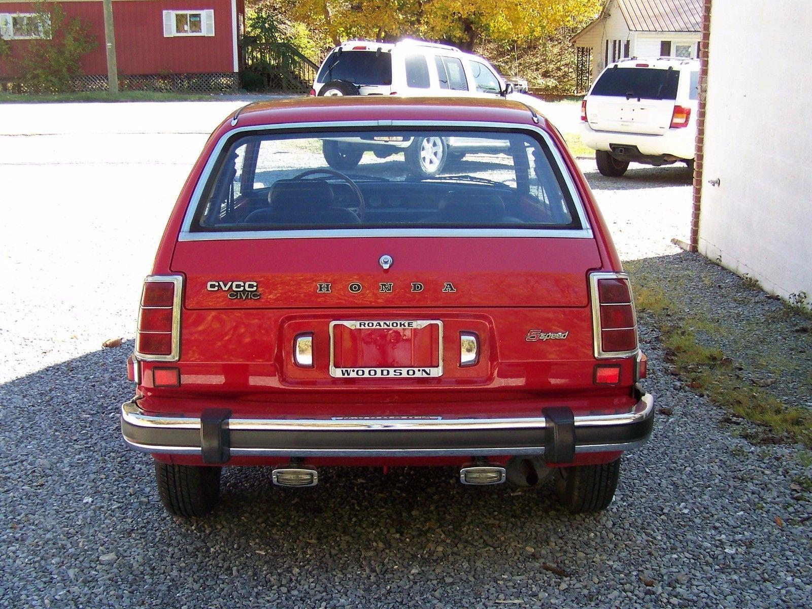 Great 1977 Honda Civic Cvcc One Owner Low Miles 1977 Honda Civic