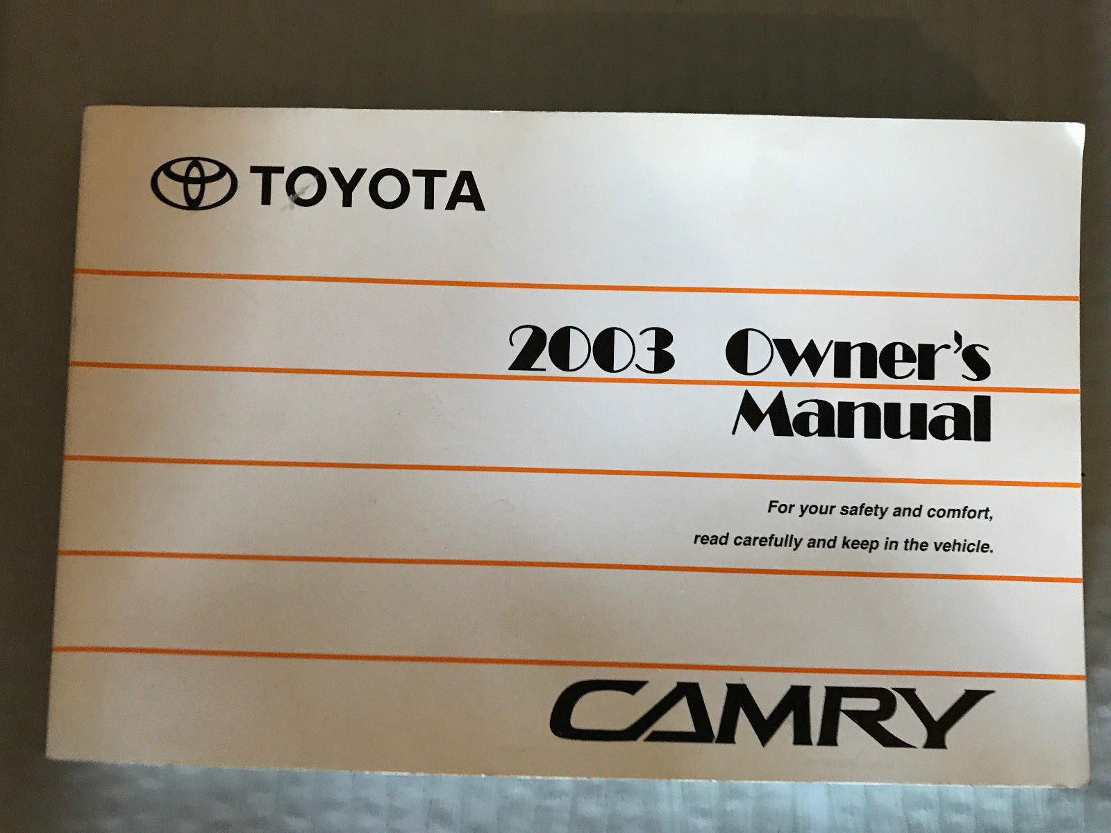 2017 Toyota Camry Owners Manual Motors Vehicle Parts & Accessories ...