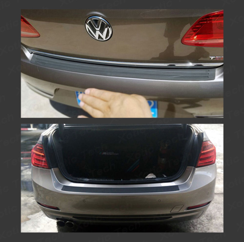 Bumper Guard For Suv >> Awesome 1x Car Trunk Suv Sill Plate Bumper Guard Protector Rubber