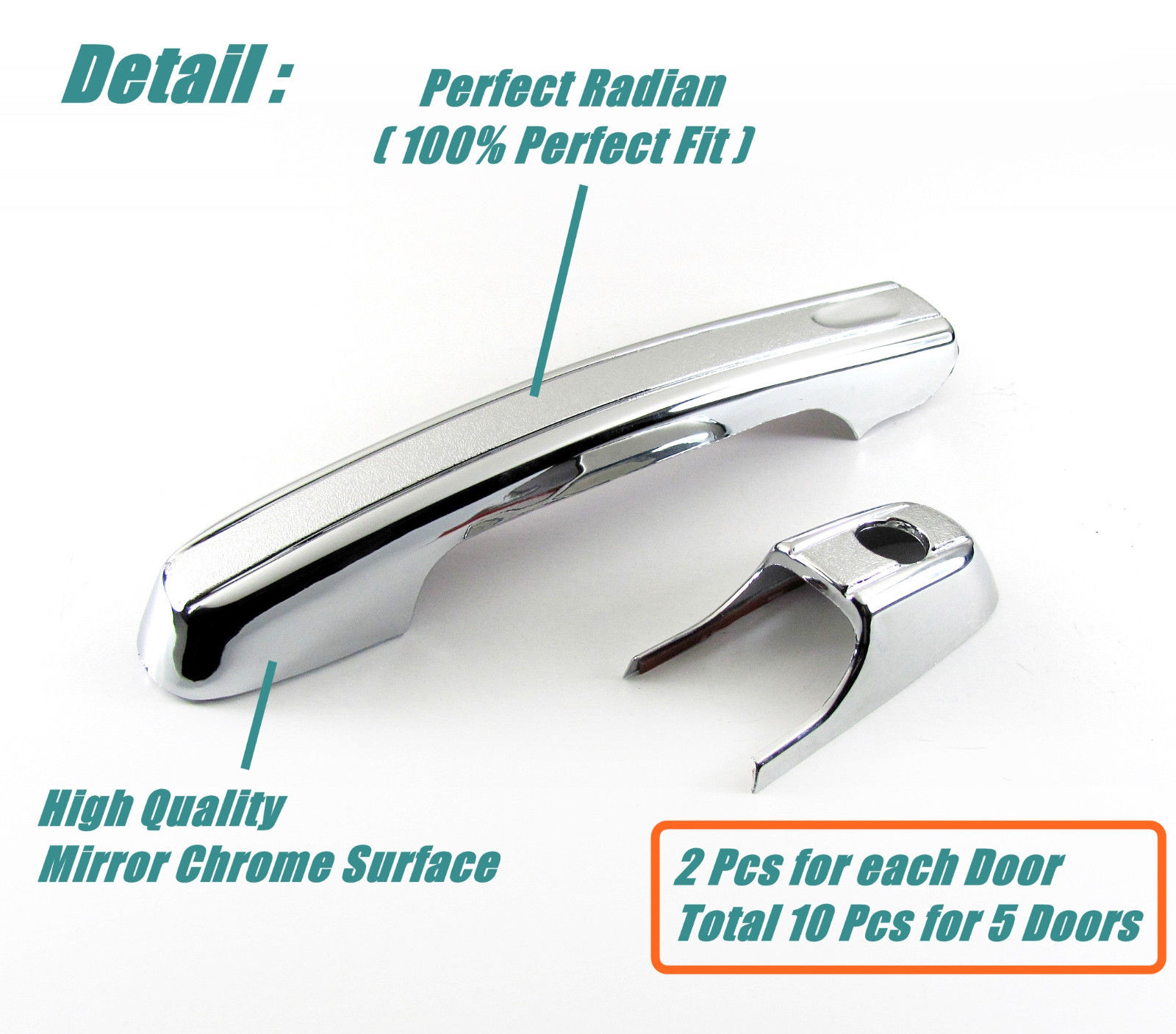 Chrome Door Handles >> Awesome Accessories Chrome Door Handle Covers For Honda Cr V 2002