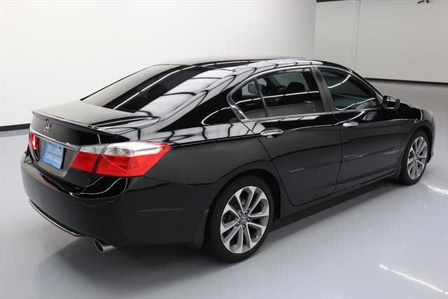 awesome 2014 honda accord sport sedan 4 door 2014 honda accord sport sedan 6 spd rear cam alloys. Black Bedroom Furniture Sets. Home Design Ideas