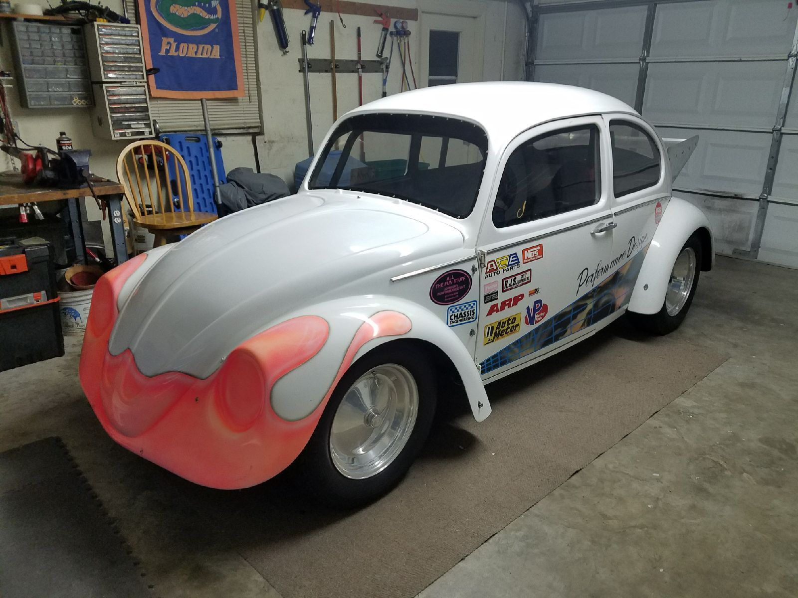 Amazing 1966 Volkswagen Beetle – Classic 1966 VW BEETLE DRAG CAR FL !!!NO  Reserve!!!!ONE OF A KIND 2017-2018