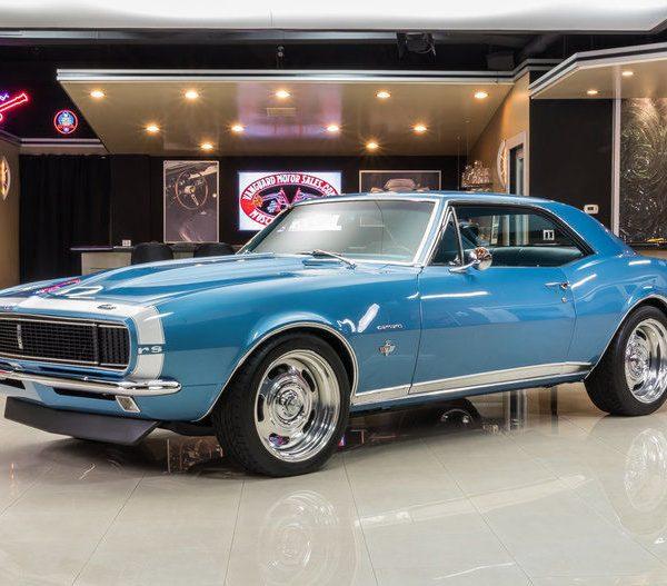 Awesome 1967 Chevrolet Camaro RS Nut & Bolt Resto! 327ci V8 w/ EFI, Tremec  TKO600 5-Speed, Wilwood Disc & More! 2017-2018