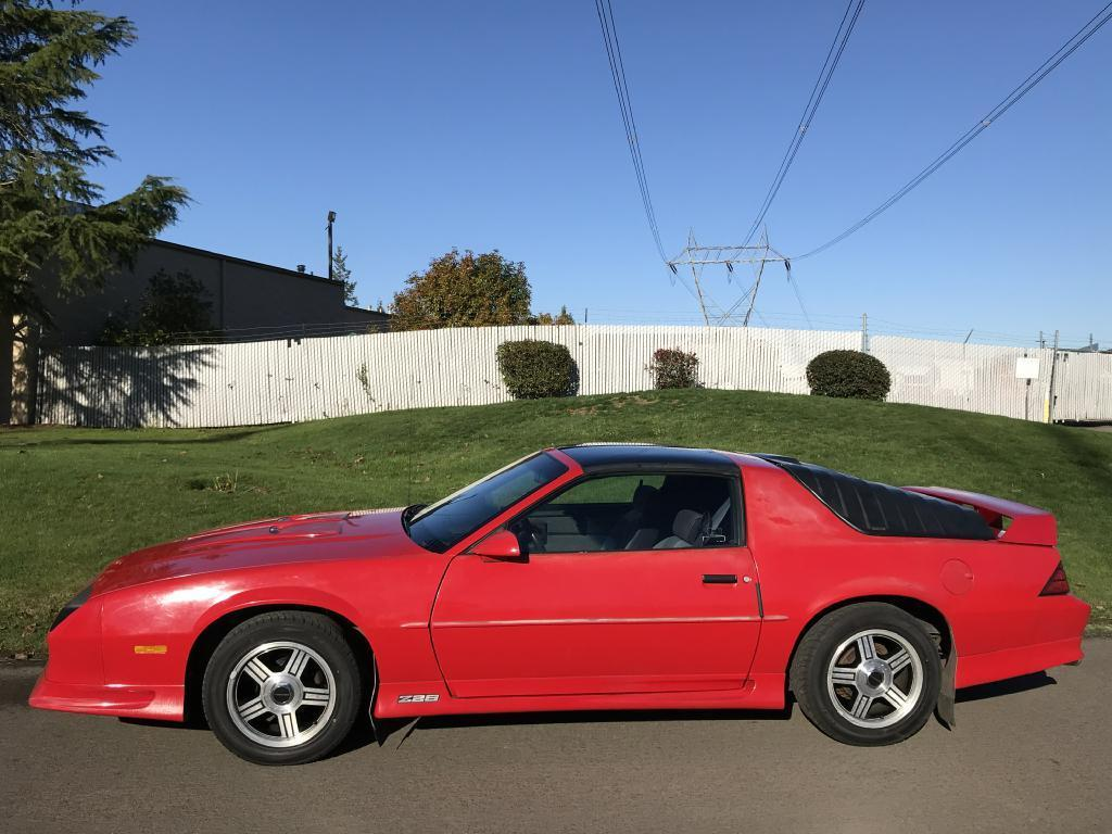 1991 chevrolet camaro z28 1991 chevrolet camaro z28 59 039 miles 2 owner owned 23 years all orig t top 2017 2018 mycarboard com mycarboard com