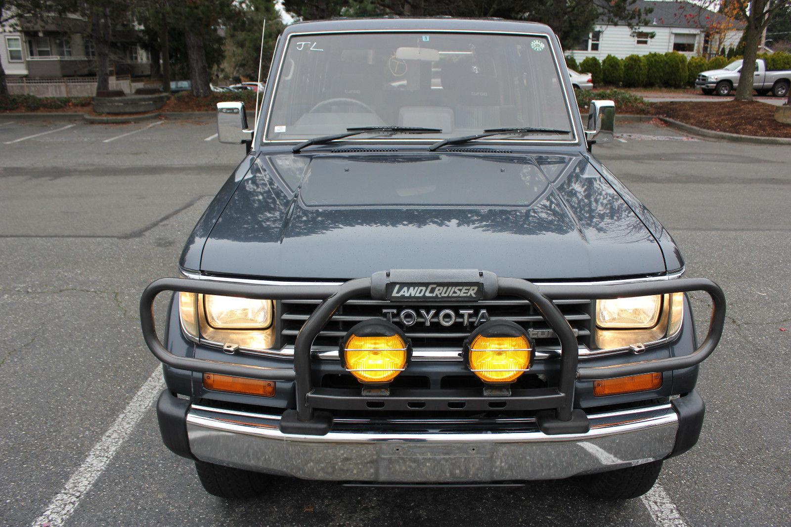 Toyota Land Cruiser Diesel >> Great 1991 Toyota Land Cruiser Sx Toyota Landcruiser Prado 1991 Turbo Diesel 2017 2018
