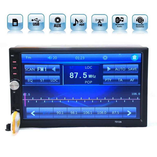 Amazing 7 Touch Screen Bluetooth Radio Audio Stereo Car Video