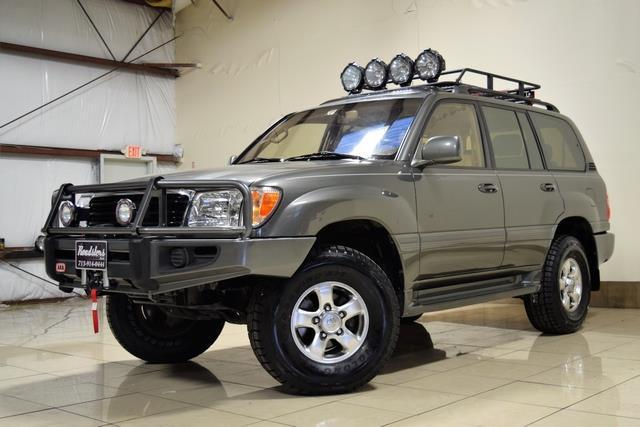 Great 2001 Toyota Land Cruiser Lifted 4x4 Toyota Land