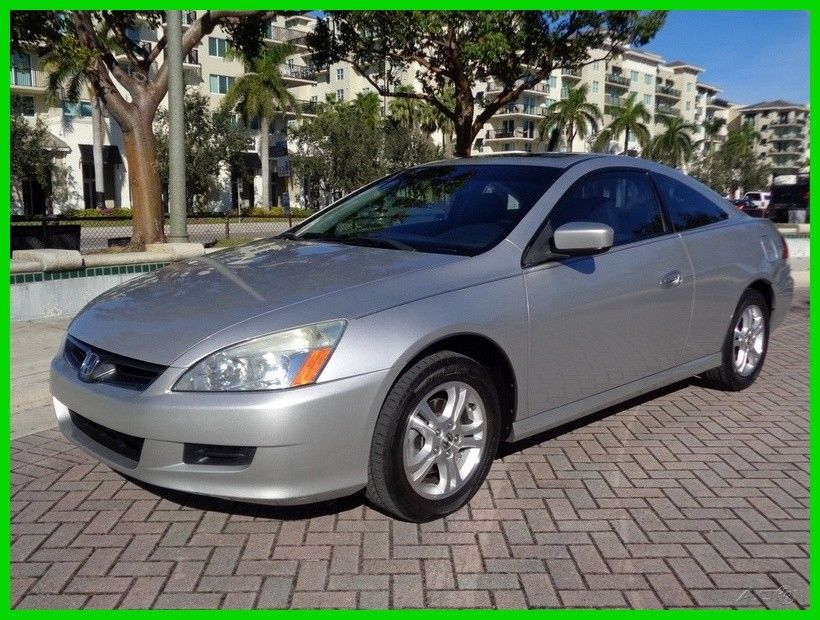 Awesome 2006 Honda Accord Ex L Coupe 1 Owner Heated Seats Pwr Sunroof 74k Mi No Reserve 2017 2018