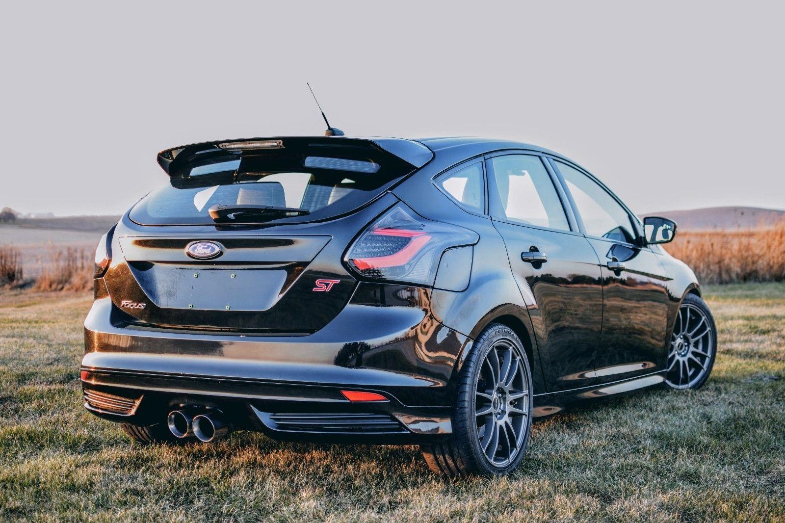 Amazing 2017 Ford Focus St Hatchback 4 Door St3 Spec Turbo 400 Whp 12k In Upgrades Recaro Navi 2018