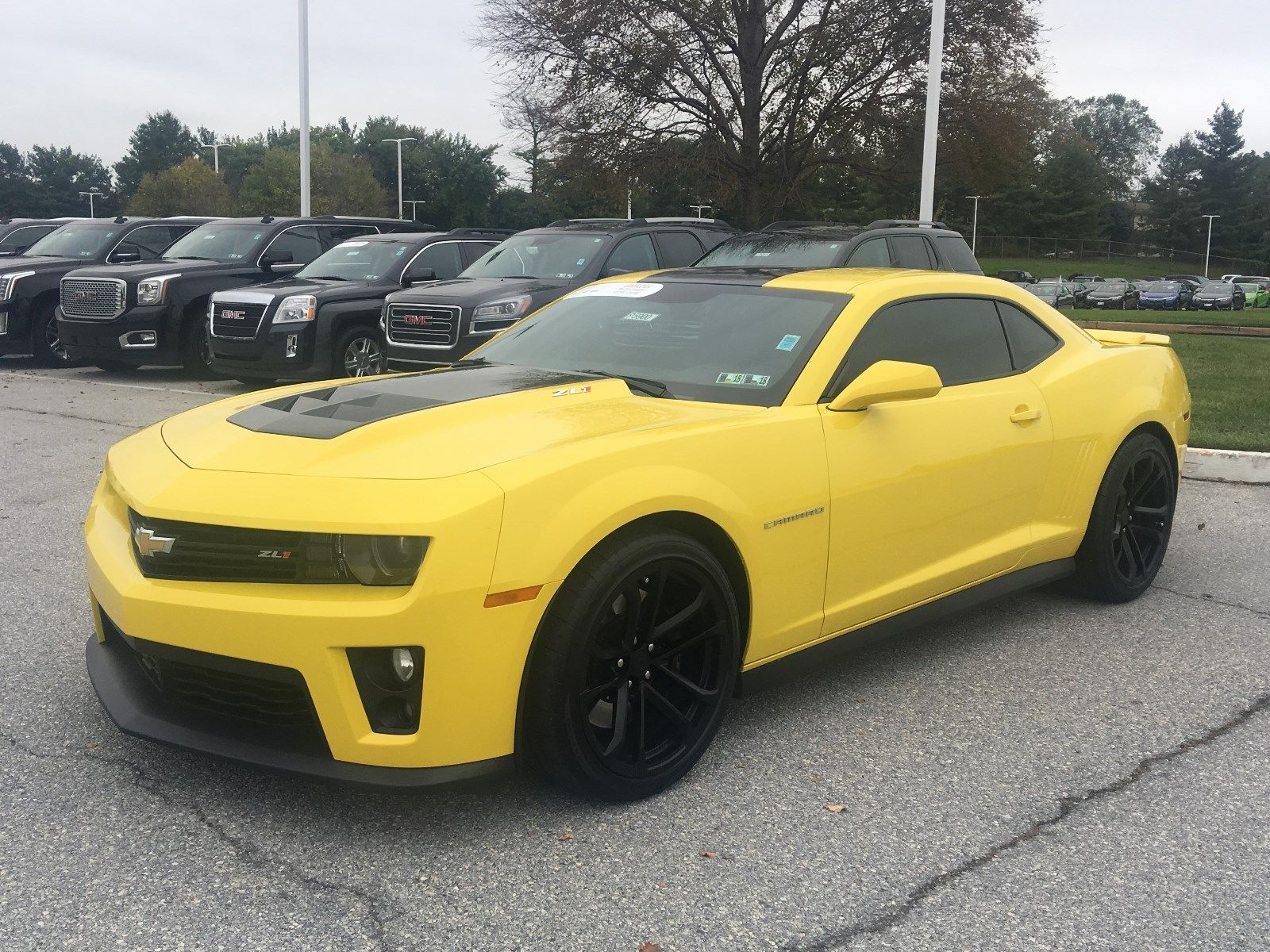 Amazing 2015 Chevrolet Camaro Zl1 Bright Yellow Chevy