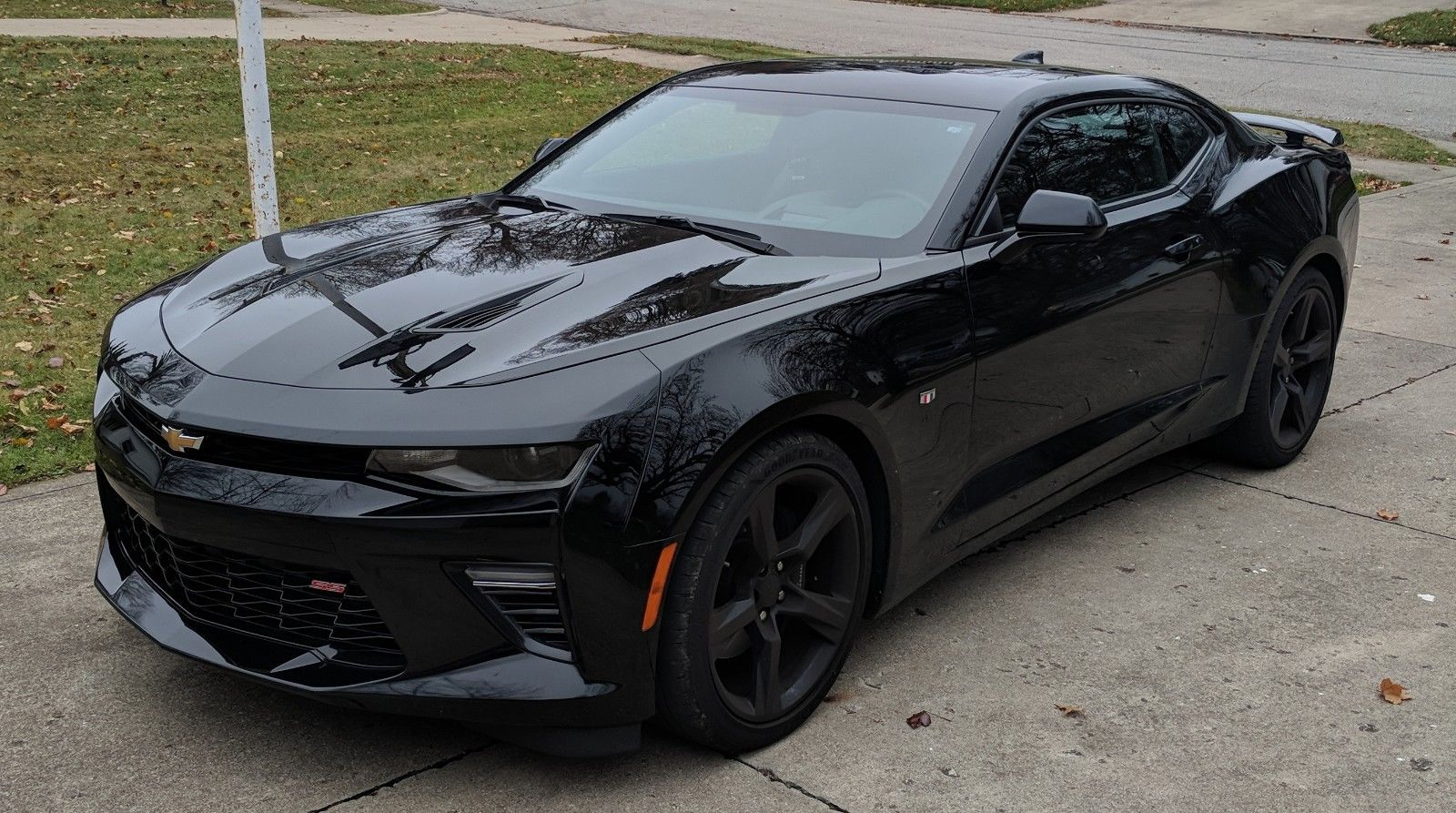 Amazing 2016 Chevrolet Camaro 2ss Black 6500 Miles Chevy V8 Auto Leather Sunroof 2017 2018