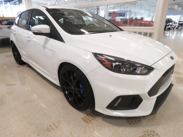 Great 2016 Ford Focus Rs 16 9 714 Miles Frozen White Hatchback Intercooled Turbo Premium 2017 2018