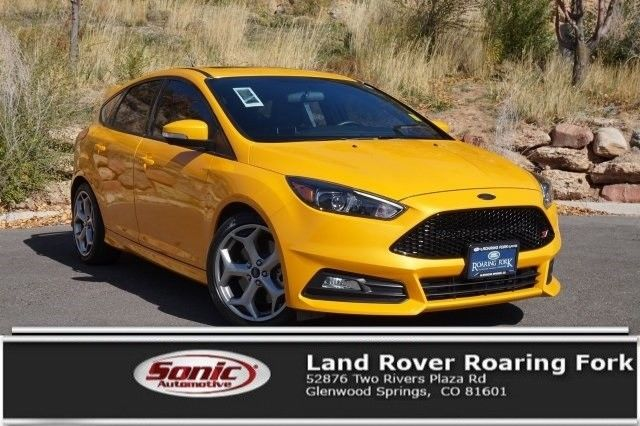 awesome 2016 ford focus st 2016 ford focus st 6489 miles tangerine