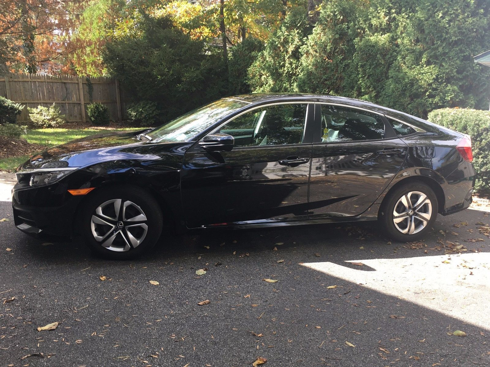 Great 2016 Honda Civic Lx Sedan 4 Door Off Lease Low Mileage 7 500 2018 2019