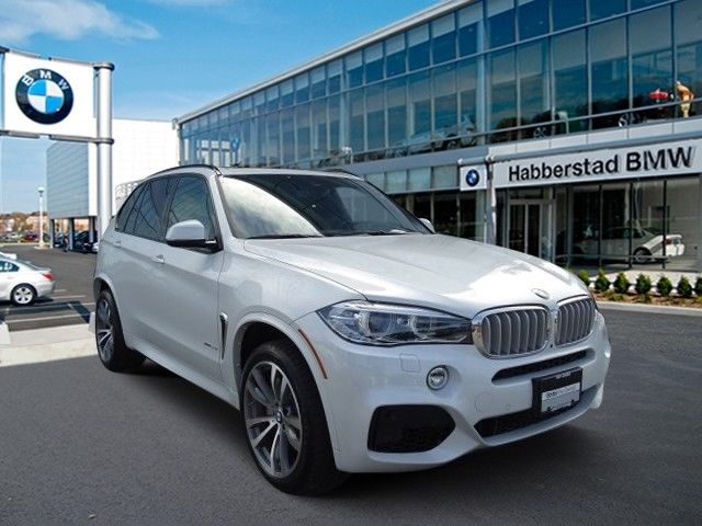 Great 2017 Bmw X5 Xdrive50i 5743 Miles White Sport Utility Twin Turbo Premium Unleaded 2018
