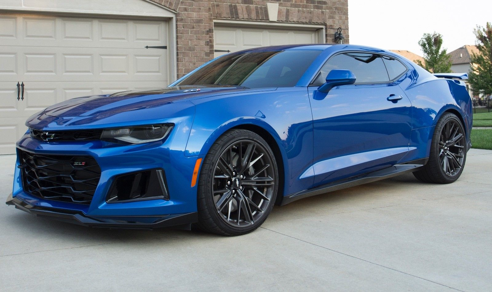 Awesome 2017 Chevrolet Camaro Zl1 2017 Camaro Zl1 Hyper Blue Low Miles 1 Owner Best Deal On