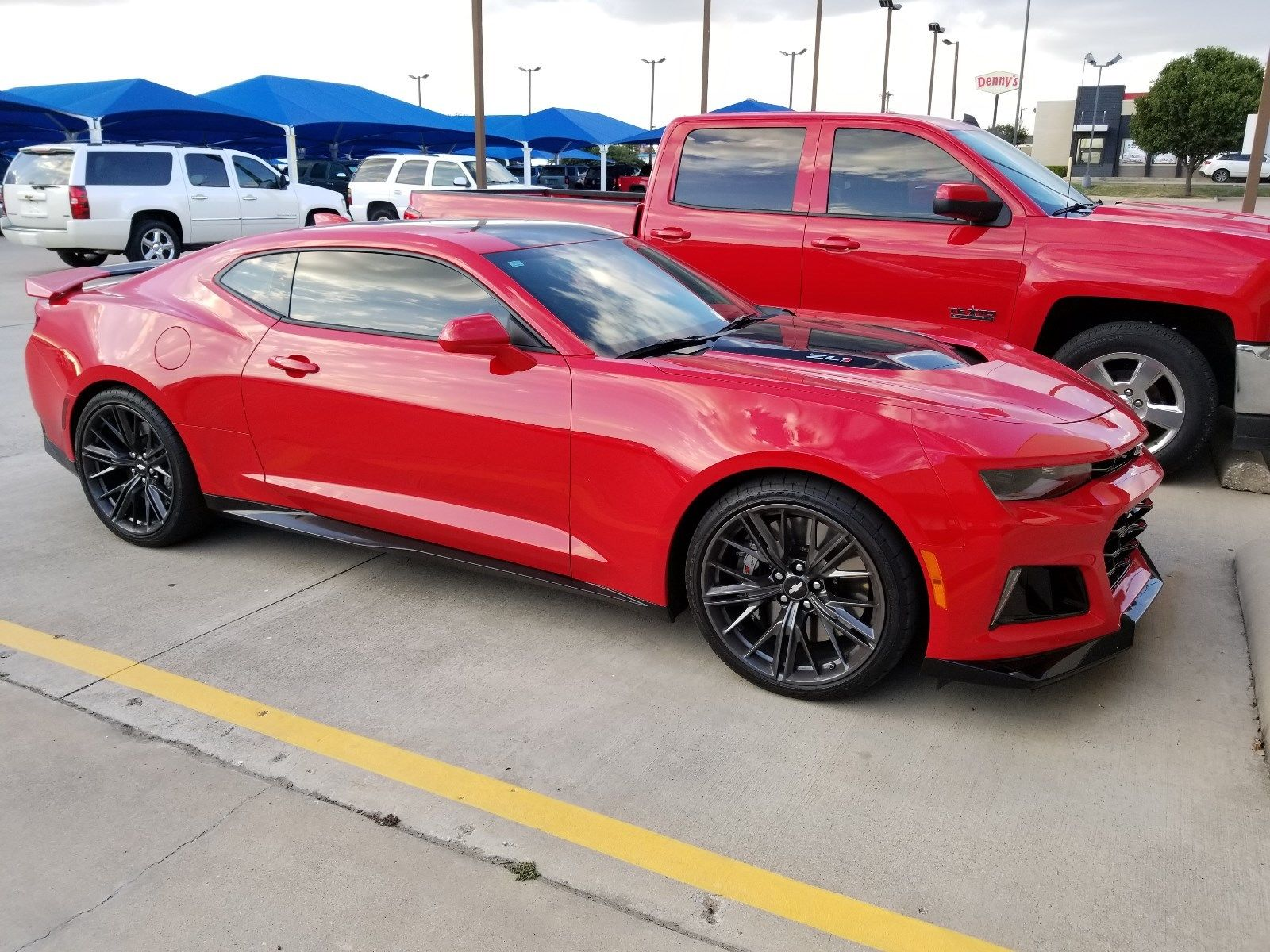 Amazing 2017 Chevrolet Camaro Zl1 Coupe Red Hot Beautiful Car 2018