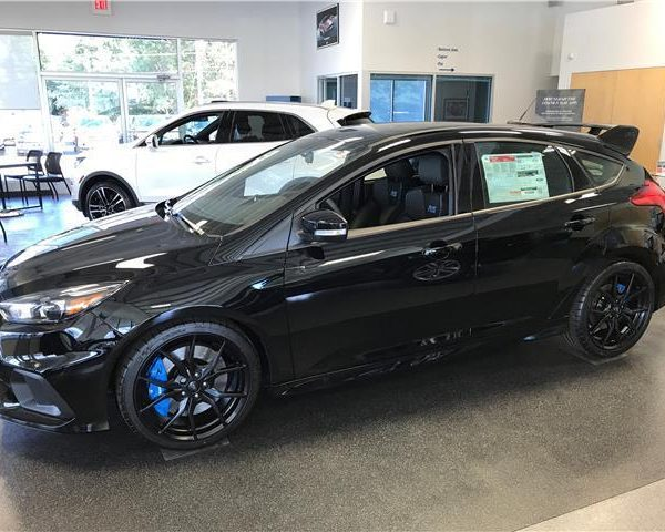 Ford Focus Awd >> Awesome 2017 Ford Focus Rs 2017 Ford Focus Rs Black Awd Rs 4dr