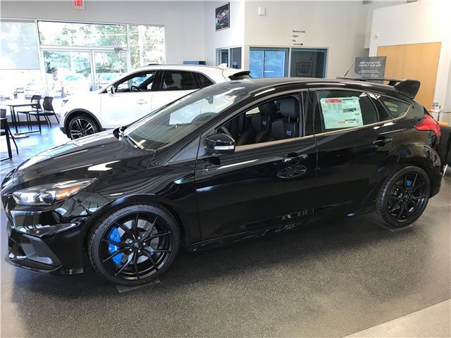 Awesome 2017 Ford Focus Rs Black Awd 4dr Hatchback 6 Sd Manual 2 3l Ecoboost 2018