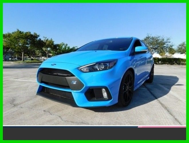 Amazing 2017 Ford Focus Rs Used Certified Turbo 2 3l I4 16v Manual All Wheel Drive Hatchback 2018