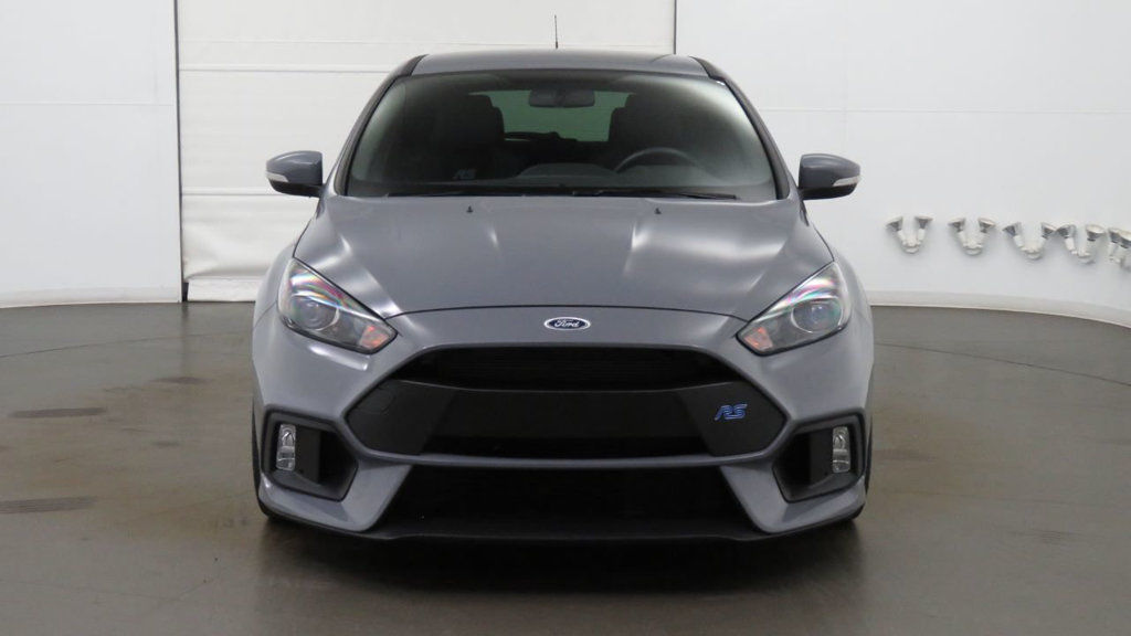 Great 2017 Ford Focus Rs Hatch Low Mile Fresh Trade Local Az Car Stealth Grey Over Charcoal 2018