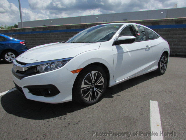Great 2017 Honda Civic Ex L Cvt New 2 Dr Coupe Gasoline 1 5l 4 Cyl White Orchid Pearl 2018