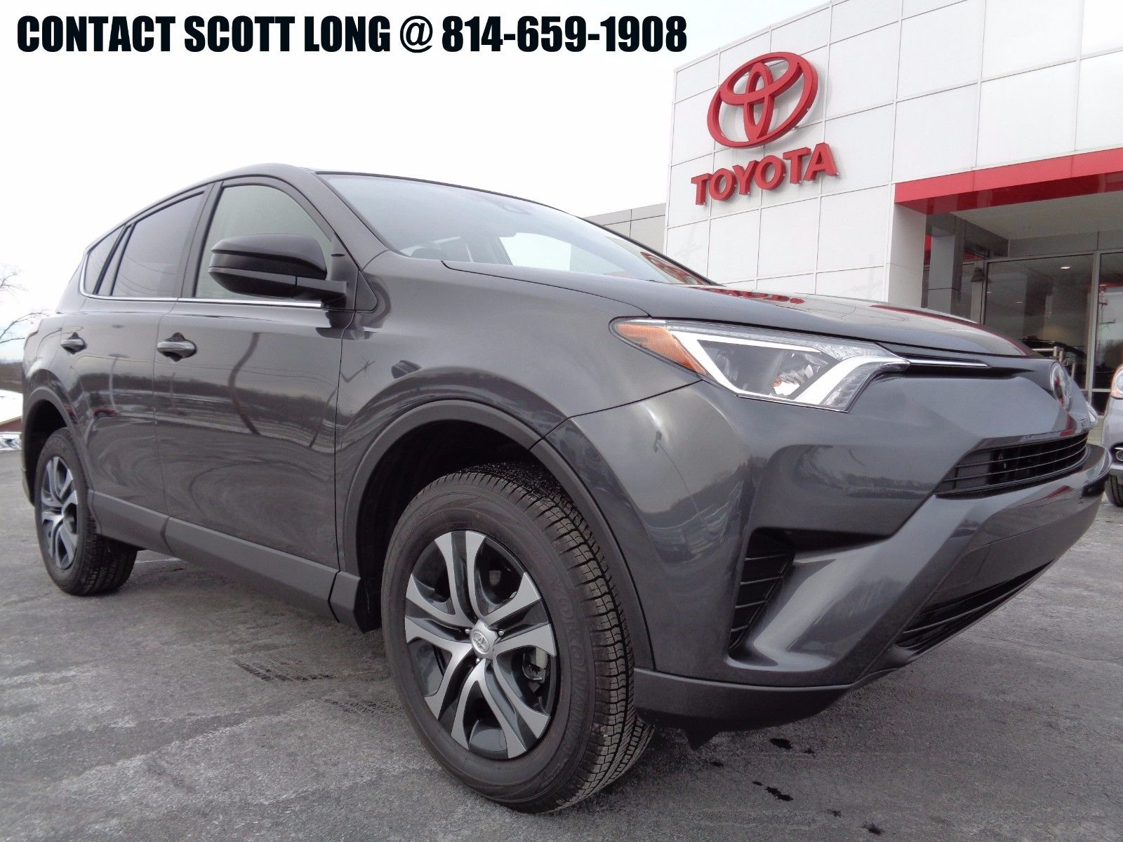 Awesome 2017 Toyota Rav4 Le All Wheel Drive Certified Warranty Awd Rear Camera Magnetic Gray Metallic 1836 Miles