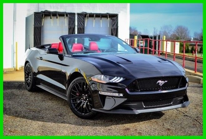 amazing 2018 ford mustang gt premium convertible 2018. Black Bedroom Furniture Sets. Home Design Ideas