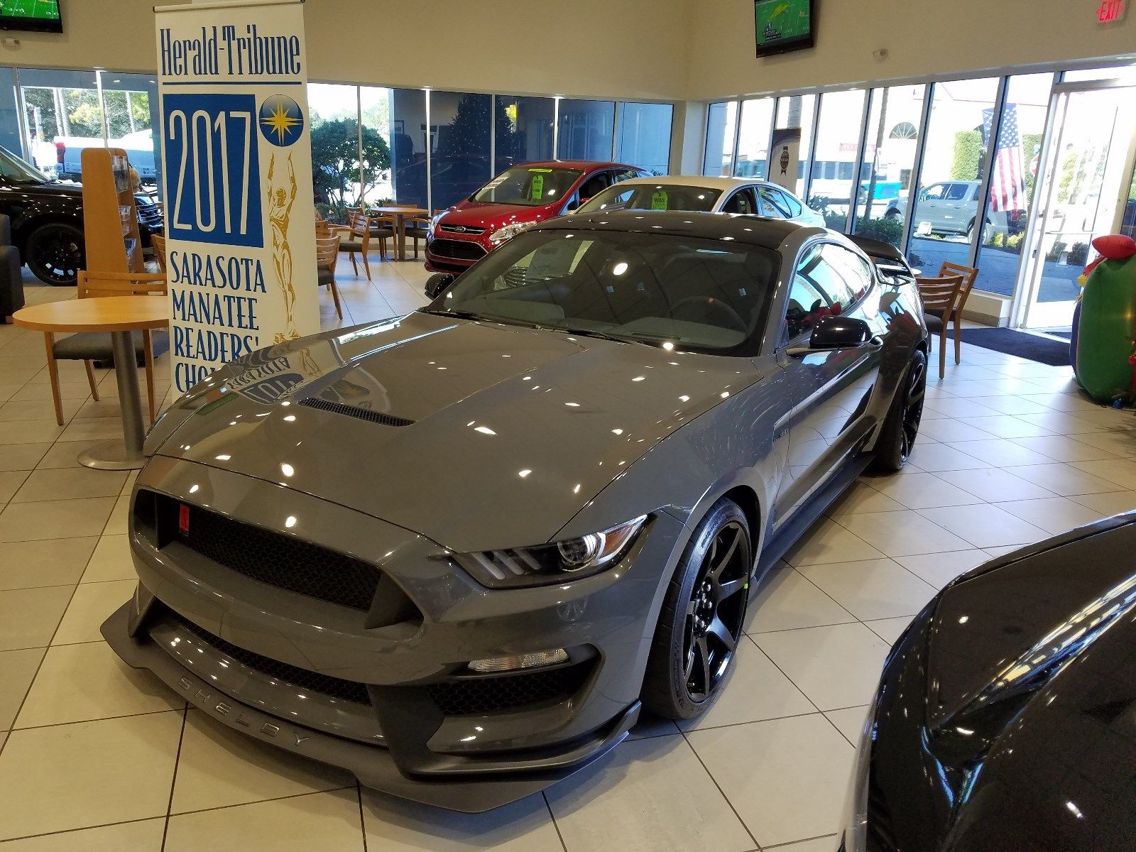 Amazing 2018 Ford Mustang SHELBY GT350R 2018 FORD MUSTANG SVT SHELBY GT350R GT 350 R LEADFOOT ...