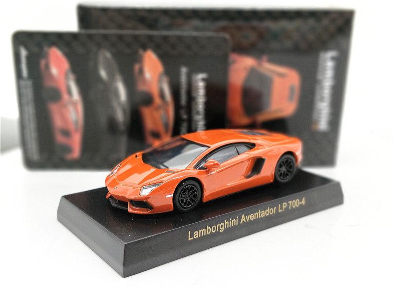 Awesome Kyosho 1 64 Lamborghini Aventador Lp 700 4 Orange Diecast