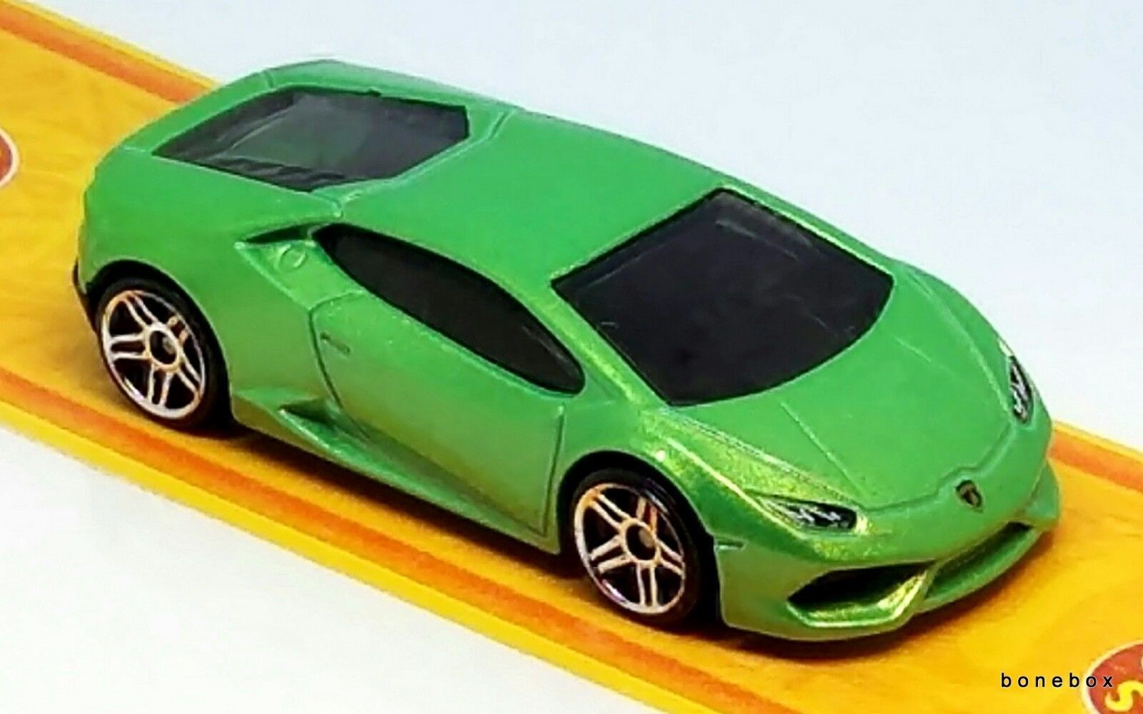 green huracan hot wheels