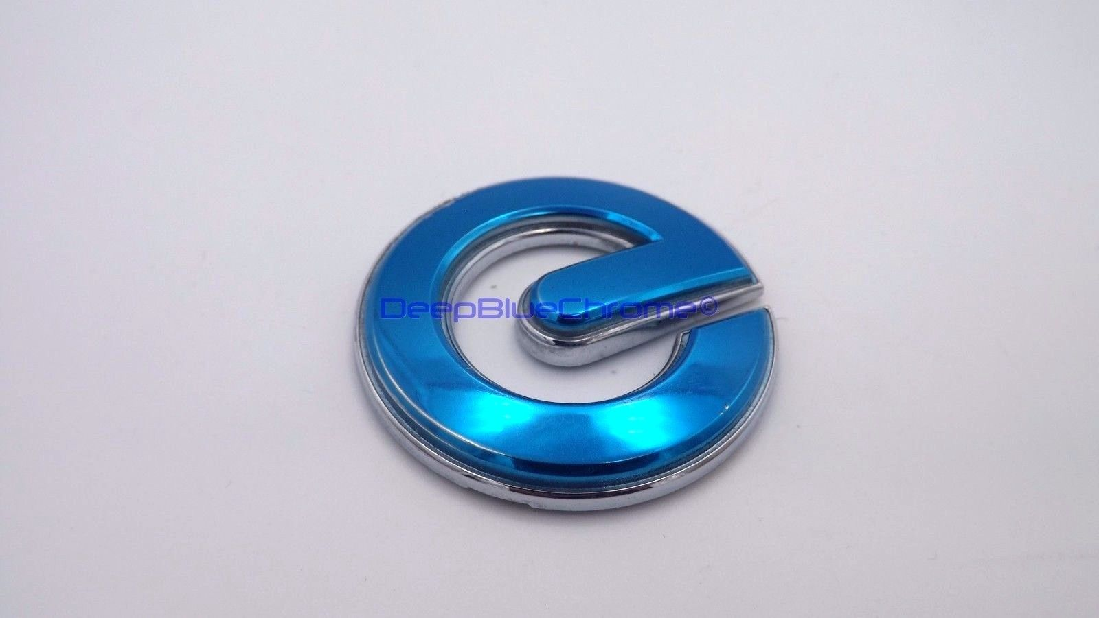 Great Nissan Leaf Zero Emission Blue E Only Emblem 2017 2016 Trunk Badge Genuine Oem 2018