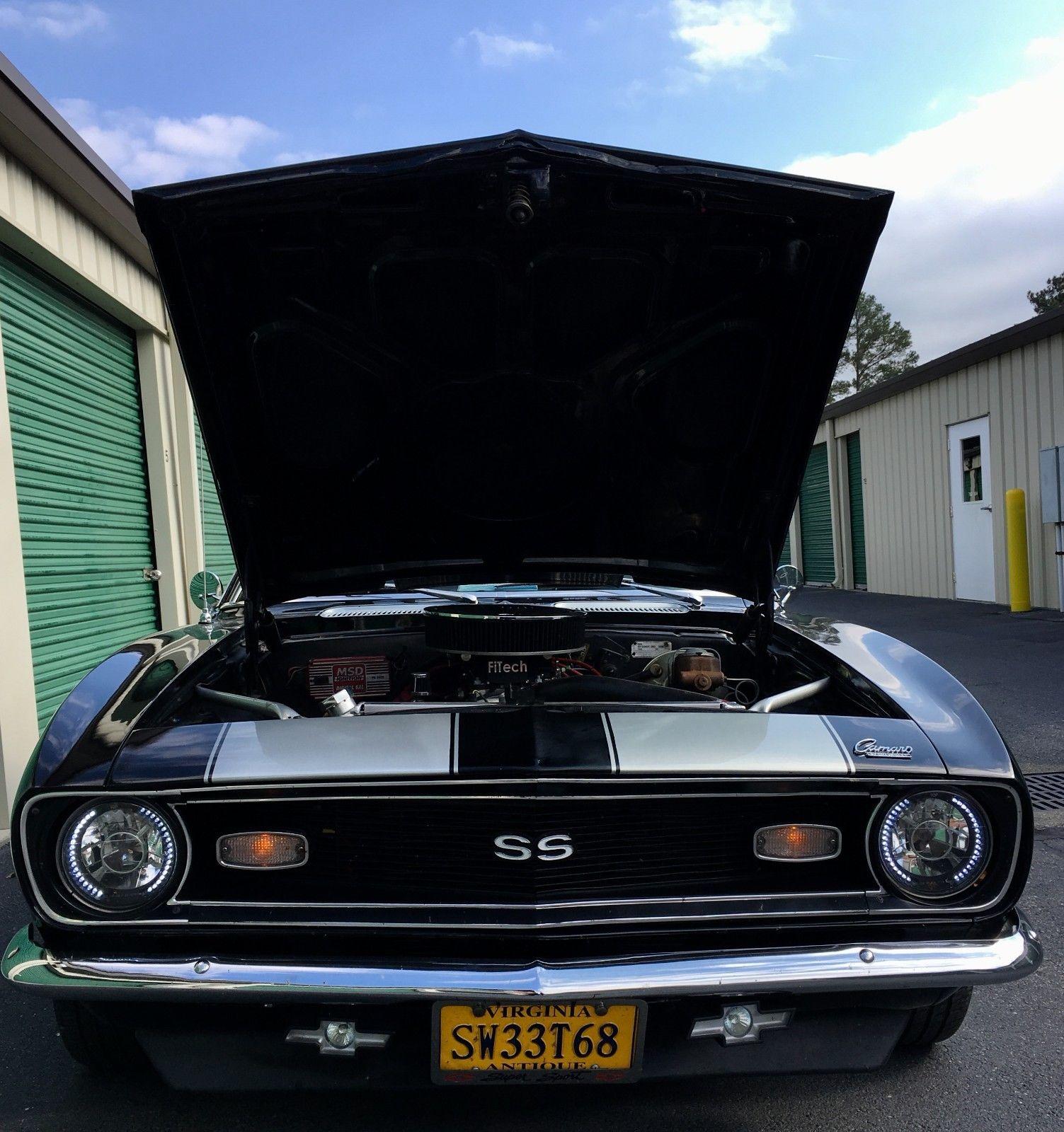 2016 Chevrolet Ss Camshaft: Great 1968 Chevrolet Camaro SS Style 1968 Camaro SS BIG