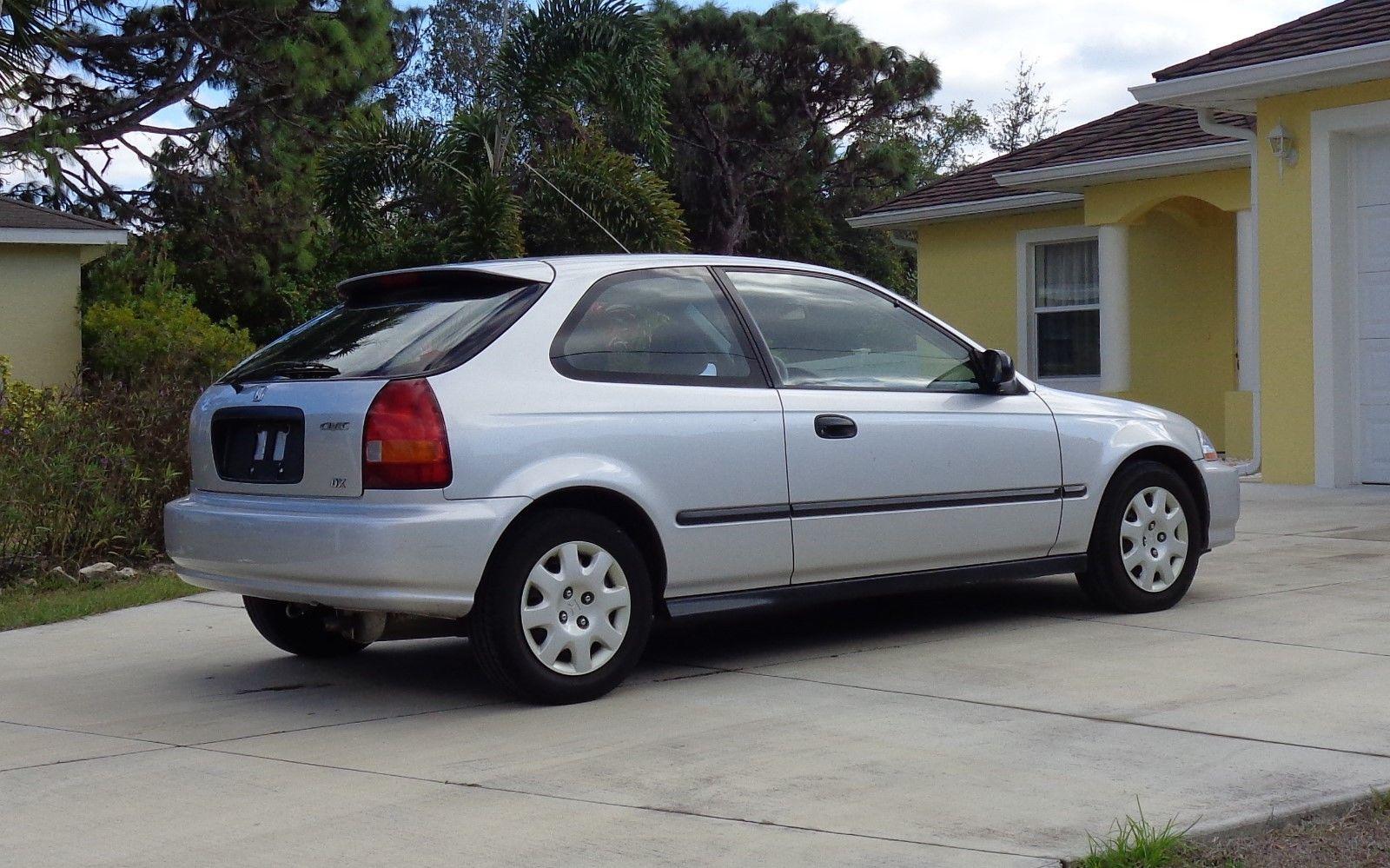 Awesome 1998 Honda Civic 1998 Honda Civic DX Hatchback ...