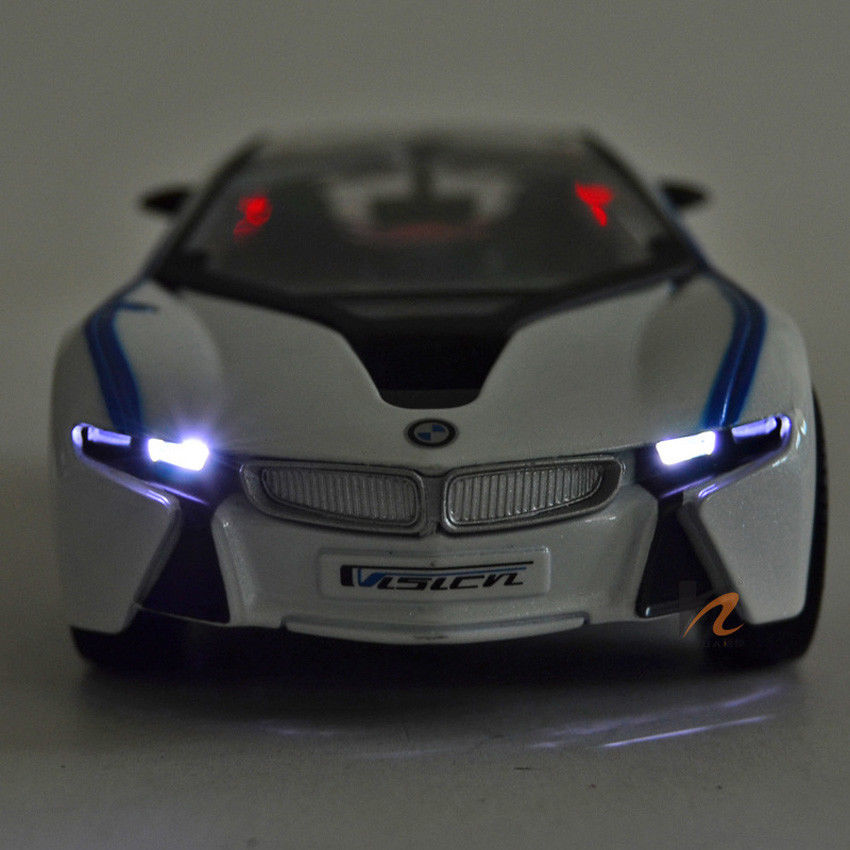 Awesome 1 32 Bmw I8 Alloy Diecast Coupe Car Model Toys Car Vehicle