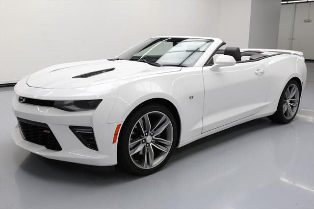Great 2016 Chevrolet Camaro Ss Convertible 2 Door Chevy 2ss Leather Nav Hud 22k 166875 Texas Direct Auto 2017 2018