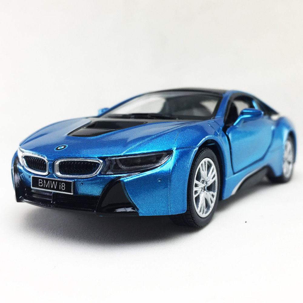 Awesome BMW I8 Plug-In Hybrid Sports Car Kinsmart 1:36