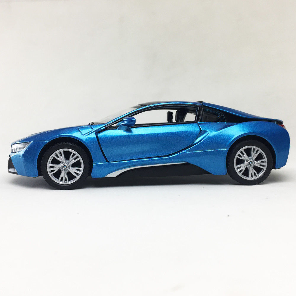 Awesome BMW I8 Plug-In Hybrid Sports Car Kinsmart 1:36
