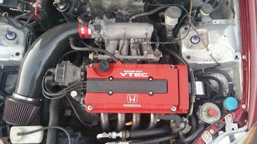 Amazing 1998 Honda Civic Ex Crate Motor B18c Type R Purchased Though H Motors Online 2017 2018